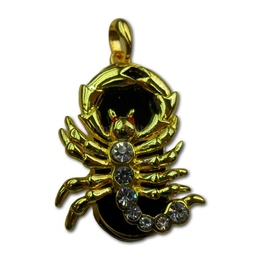 Оригинальная подарочная флешка Present ZODIAC01 08GB (знак зодиака скорпион, на темном фоне, 7 камней, 10 лап, без блистера)