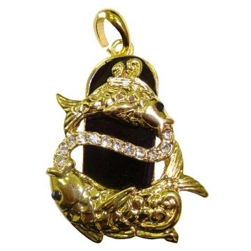 Оригинальная подарочная флешка Present ZODIAC11 08GB (знак зодиака рыбы на темном фоне)