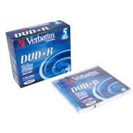 DVD+R (болванка) Verbatim Jewel Case 5шт (4.7GB, 16x, Matte Silver, 43497)