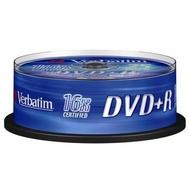 DVD+R (болванка) Verbatim Cake Box 25шт (4.7GB, 16x, 43500)