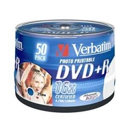 DVD+R (болванка) Verbatim Bulk 50шт (4.7GB, 16x, Printable, 43512)