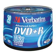 DVD+R (болванка) Verbatim Cake Box 50шт (4.7GB, 16x, 43550)