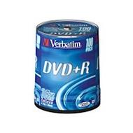 DVD+R (болванка) Verbatim Cake Box 100шт (4.7GB, 16x, 43551)