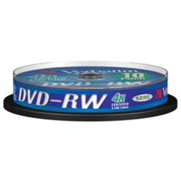 DVD-RW Verbatim Cake Box 10шт (4.7GB, 4x, 43552)