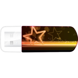 Накопитель USB2.0 Verbatim Mini Neon Edition 16GB Orange
