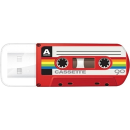 Накопитель USB2.0 Verbatim Mini Casette Edition 16GB Red