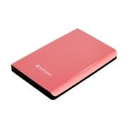 "Внешний жесткий диск 500 gb Verbatim Store ""n"" Go Coral (2.5"", USB3.0, 53170)"
