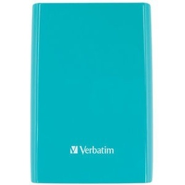 "Внешний жесткий диск 1 TB Verbatim Store""n""Go Cyan (2.5"""", USB3.0, 53174)"