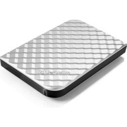 "Внешний жесткий диск 500 gb Verbatim Store ""n"" Go Style Silver (2.5"""", USB3.0, 53196)"