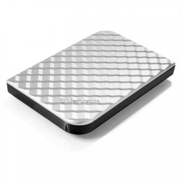 "Внешний жесткий диск 1 TB Verbatim Store ""n"" Go Style Silver (2.5"""", USB3.0, 53197)"