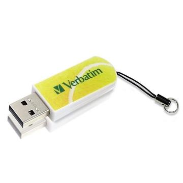 Накопитель USB2.0 Verbatim Mini Sport Edition 8GB Теннис