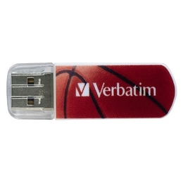 Накопитель USB2.0 Verbatim Mini Sport Edition 16GB Баскетбол