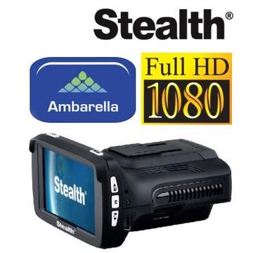 Видеорегистратор Stealth MFU 640 (с функцией радардетектора и GPS-информатора)