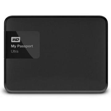 "Внешний жесткий диск 500 gb Western Digital My Passport Ultra Black New (2.5"", USB2.0/3.0)"
