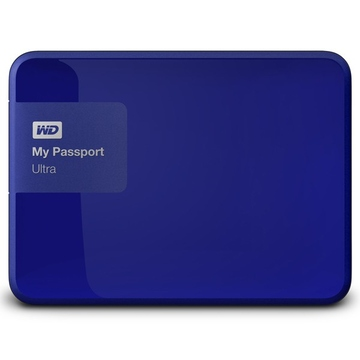 "Внешний жесткий диск 500 gb Western Digital My Passport Ultra Blue New (2.5"", USB2.0/3.0)"