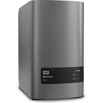 """Внешний жесткий диск 4 тб Western Digital My Book Duo (3.5"""", USB 3.0)"""