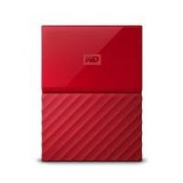 """Внешний жесткий диск 3 Тб Western Digital My Passport EXT Red (2.5"""", USB2.0/3.0)"""