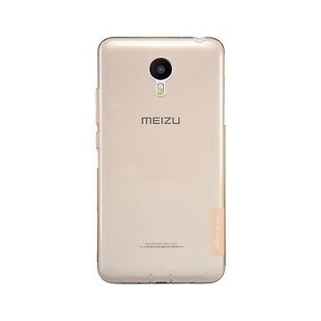 Чехол Nillkin Clear Cover Gold (для Meizu M2 Note)
