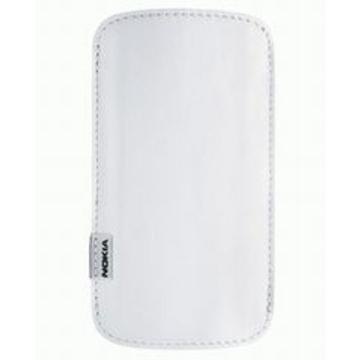 Чехол Nokia CP-371 White (для 6720, E52, E55)