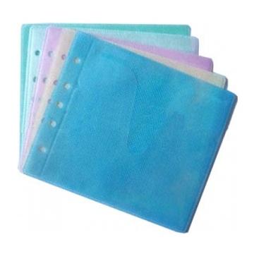 Пакет Mix (для CD/DVD, двойной, с перфорацией, разноцветные, 100 шт.)
