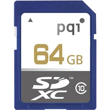 SDXC 64Гб PQI UHS-I
