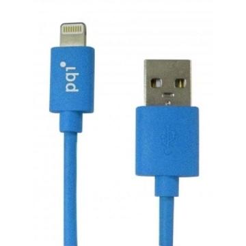 Кабель PQI i-Cable USB2.0-Lightning Blue (1м)