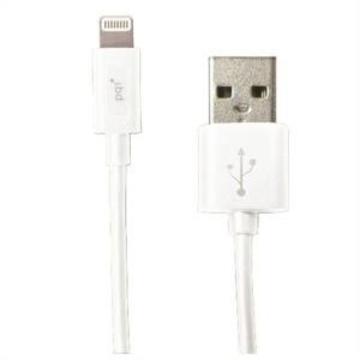 Кабель PQI i-Cable USB2.0-Lightning White (1,8м)
