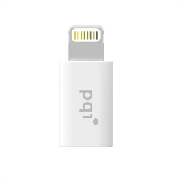 Адаптер PQI iDongle Lightning-microUSB White