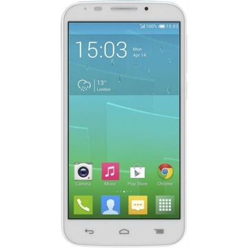 Alcatel 7045Y One Touch POP S7 White Fashion Blue