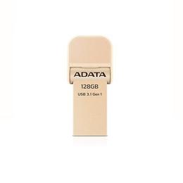 Накопитель USB3.1 A-Data AI920 i-Memory 128гб Gold