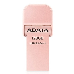 Накопитель USB3.1 A-Data AI920 i-Memory 128гб Rose Gold