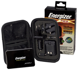 Портативный аккумулятор Energizer XP1000K (1000mAh, адаптеры 30pin/microUSB/miniUSB/Nokia 2mm)