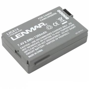 Lenmar LIC214 (аналог аккумулятора Canon BP-214, 7.4V, 1300mAh]