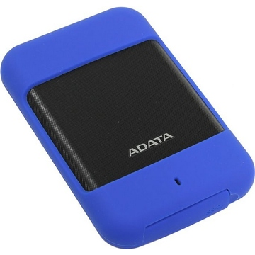 """Внешний жесткий диск 2Тб A-Data HD700 Blue (2.5"""", USB3.0, прорезиненный, водонепроницаемый, противоударный)"""
