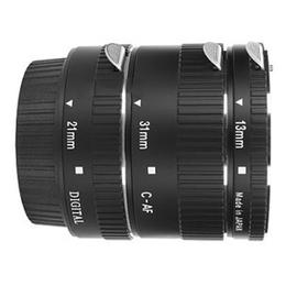 Кольцо удлинительное Marumi (набор колец длиной 13/21/31mm, для макросъемки, для Canon EOS байонет EF)