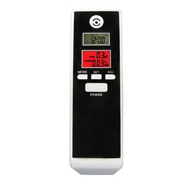 Алкотестер PFT-661S (2 цифровых дисплея, один дисплей с подсветкой, часы, таймер, 30гр, 119 31 22мм)
