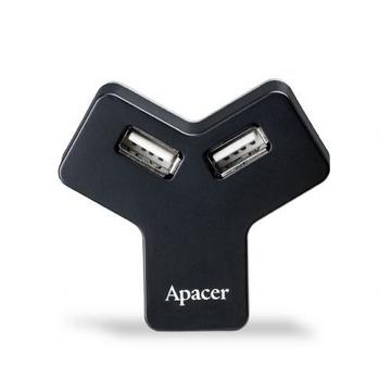 Card reader Apacer Hub PH151 Black