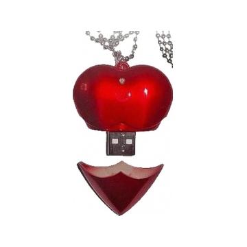 USB флешка под нанесение логотипа Apexto U701A 4Гб Red