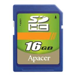SDHC 16Гб Apacer Класс 2