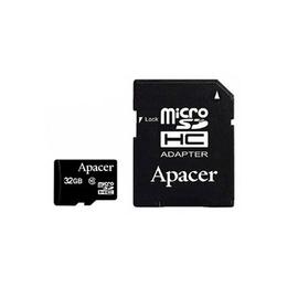 MicroSDHC 32Гб Apacer Класс 10 (адаптер)