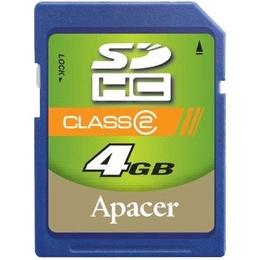 SDHC 04Гб Apacer Класс 2