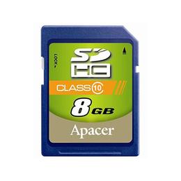 SDHC 08Гб Apacer Класс 10