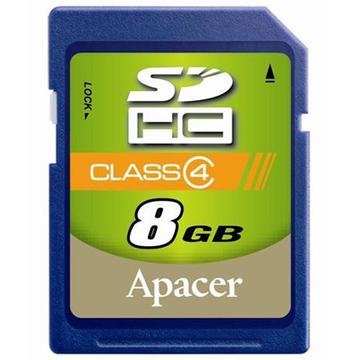SDHC 08Гб Apacer Класс 4