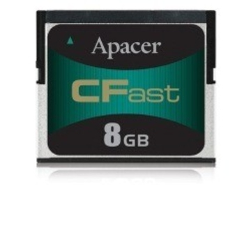 Compact Flash 08Гб Apacer (CFAST, SLC EXT STD speed)