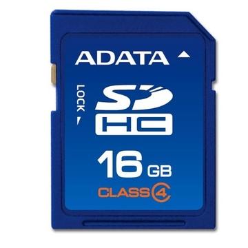 SDHC 16Гб A-Data Класс 4