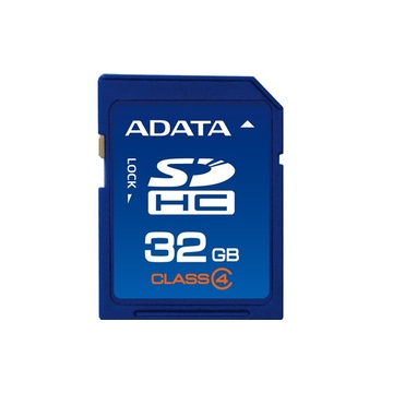 SDHC 32Гб A-Data Класс 4