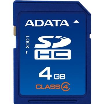 SDHC 04Гб A-Data Класс 4