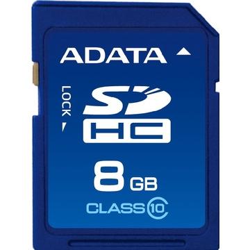 SDHC 08Гб A-Data Класс 10