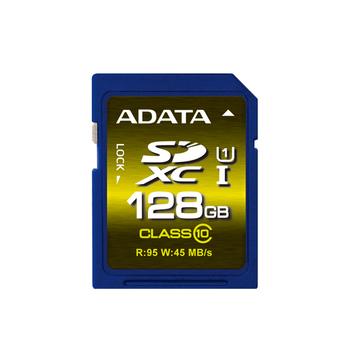 SDXC 128Гб A-Data Класс 10 UHS-I U1 Premier Pro