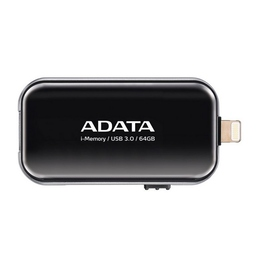 Флешка USB 3.0 A-Data UE710 i-Memory Elite 64 гб Black